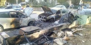 VATRENO U SPLITU Gorjeli kontejneri, požar zahvatio i dva automobila