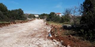 Na Čiovu počela gradnja 600 metara ceste