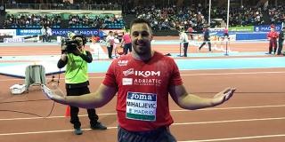 Filip Mihaljević postavio novi državni rekord u dvorani
