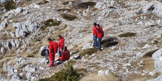 Makarski HGSS spasio mladog planinara: 'Zbilja je puka sreća kako je prošlo'