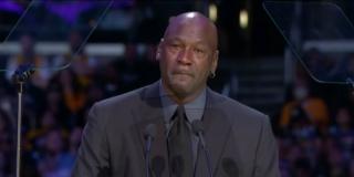 EMOTIVNA KOMEMORACIJA ZA KOBEA: Govor Michaela Jordana rasplakao je 20.000 ljudi u Staples Centru
