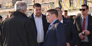 Oleg Butković obišao radove na izgradnji luke u Kaštel Starom: 'Pokrenuli smo pravu renesansu na hrvatskoj obali'