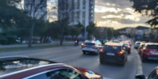 Oboren pješak u Velebitskoj ulici, prevezen je u splitsku bolnicu
