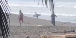 VIDEO: Pucao za profesionalnim surferom