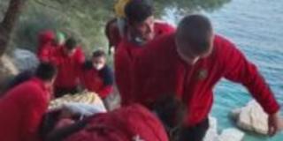Muškarac na Kašjunima pao s 10 metara na stijene