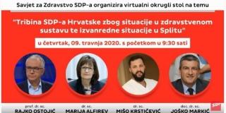 VIDEO Tribina SDP-a: Potrebno brže i više testiranja!