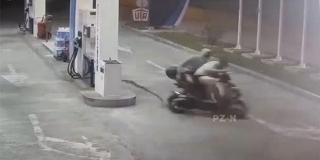 VIDEO: Ukrali motor u Šibeniku, a pali u Vodicama
