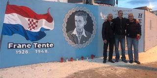 VIDEO: Otvoren mural posvećen Frani Tenti u Mravincima