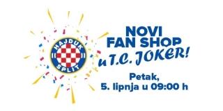 Hajduk otvara novi Fan shop u Jokeru