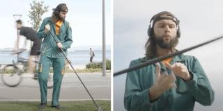VIDEO Otkriveno zašto se radnik rasplesao nasred splitske šetnice