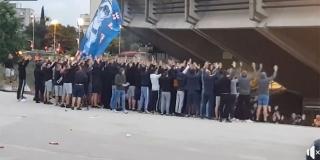 VIDEO: Torcida navijala izvan stadiona, vikali su 'hoćemo pobjedu'!