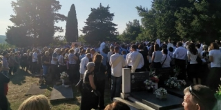U Vojniću kraj Trilja sahranjen don Luka Vuco