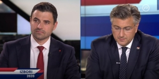 Žestoka svađa u završnom sučeljavanju: Plenković inzistirao da Bernardić kaže tko su fašisti