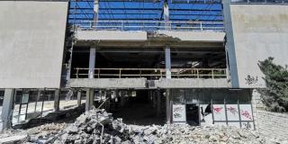 GRADILIŠTE U CENTRU SPLITA Standa ostala bez fasade, sudski uredi imat će prozore