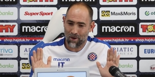VIDEO Hrvatsko novinarsko društvo kritiziralo Tudora: 'Sramotan, podcjenjivački istup Hajdukova trenera'