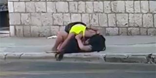 VIDEO Pofajtale se nasred prometne splitske ulice, snimka čupanja se dijeli...