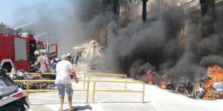 VIDEO Pogledajte dramatične snimke požara sa splitske Rive
