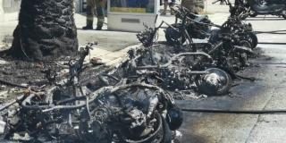 POLICIJA UTVRDILA UZROK POŽARA Na Rivi došlo do samozapaljenja elektromopeda