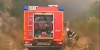 SNIMKA S KOZJAKA Vatrogasci u akciji