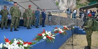 Usponom na Kninsku tvrđavu završena hodnja novih vođa Hrvatske vojske