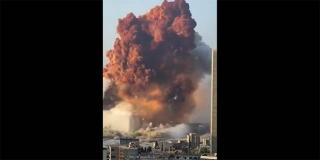 VIDEO Snimljen trenutak eksplozije u Bejrutu: Deseci mrtvih i tisuće ozlijeđenih