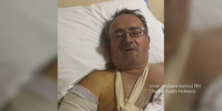 Ovo je hrvatski pomorac ozlijeđen u Bejrutu, četiri sata su mu operirali ruku i nogu
