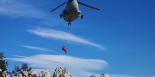VIDEO: HGSS spasio ozlijeđenu planinarku na Velebitu