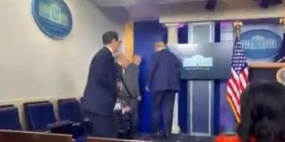 VIDEO Tajna služba izvela Trumpa s presice nakon što je prijavljena pucnjava