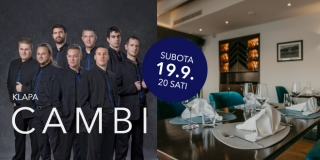 Mala Mora nastavlja svoj gastronomsko-glazbeni program koncertom klape Cambi