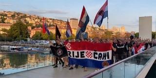 Prosvjed protiv 'Zvijezde' u Rijeci: 'To je simbol najvećeg zla u Hrvatskoj'