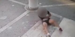 VIDEO Mladić šetao po nadstrešnici Graditeljsko-geodetsko tehniče škole u Splitu pa propao kroz strop