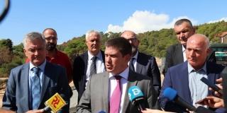 Butković i Pauk razgovarali o infrastrukturi: Obilaznica Drniša je prvi korak prema realizaciji brze ceste Šibenik-Knin
