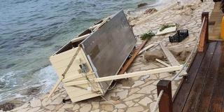 Nevera počinila štete u općini Kolan na Pagu