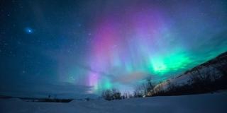 AURORA BOREALIS Spektakularna nebeska predstava koja je trajala satima