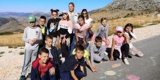 ŠKOLA U PRIRODI Zvjezdano selo Mosor i sada nastavlja s programom