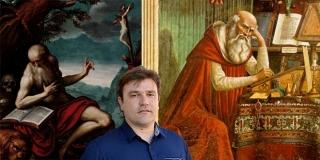 SVETI JERONIM Istraživači su se kroz povijest prepirali o lokaciji njegovog rodnog mjesta, Marko Marulić je antički Stridon smjestio u okolicu Skradina