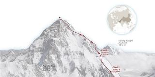 Stipe Božić: Nepalskom timu od 10 Šerpa uspio prvi zimski uspon na drugi po visini vrh svijeta K2