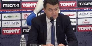Nikoličius: Odlučili smo da je najbolje za klub potpisati s novim trenerom do ljeta 2022. godine
