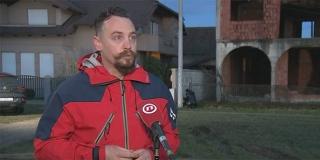 Pročelnik HGSS-a Josip Granić o tragediji u Sisku: 'Svi ljudi koji su došli ovdje ostaviti svoje srce, neka misle na svoju sigurnost prije svega'