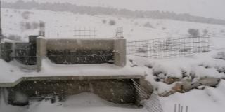 FOTOGALERIJA Voštane pod snijegom
