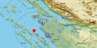 ZADAR Zabilježen potres magnitute 3,0 prema Richteru