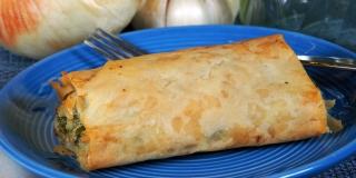 RECEPT Pita sa svježim i feta sirom i špinatom