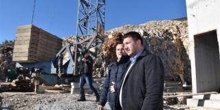 FOTOGALERIJA IZ KAŠTELA Provjerite kako teku radovi na izgradnji vodospreme Rudine II i Dudanovog parka