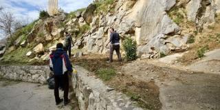 FOTO: Navijači 'žutih' uredili okoliš na Gripama, a započet je i mural