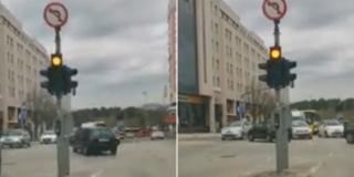 VIDEO Vozači ne odustaju, i dalje skreću u lijevo na raskrižju kod Kroma