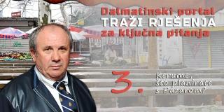 Željko Kerum: Treba srušiti Pazar, napraviti podzemnu garažu, a iznad nje modernu tržnicu