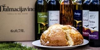 Pripremite na vrijeme tradicionalni uskršnji stol: uz dobra vina Dalmacijavina slasna sirnica gratis!