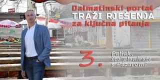 Ivica Puljak: Pazar je loše održavan, potrebna je temeljita rekonstrukcija