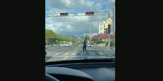 VIDEO Žongliranje na cesti