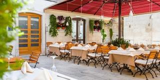 Sveti Duje u Portofino restoranu!